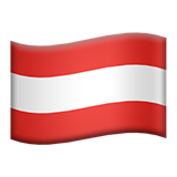 Flag For Austria Emoji (Apple/iOS Version)