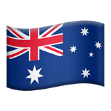 Flag For Australia Emoji (Apple/iOS Version)