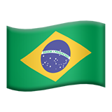 Flag For Brazil Emoji (Apple/iOS Version)