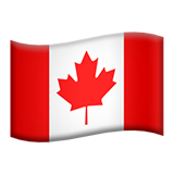 Flag For Canada Emoji (Apple/iOS Version)