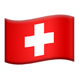 Flag For Switzerland Emoji (Apple/iOS Version)