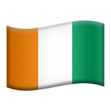 Flag For Côte D'Ivoire Emoji (Apple/iOS Version)