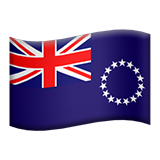 Flag For Cook Islands Emoji (Apple/iOS Version)