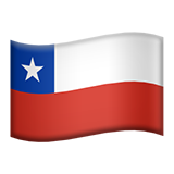 Flag For Chile Emoji (Apple/iOS Version)