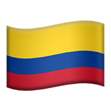 Flag For Colombia Emoji (Apple/iOS Version)