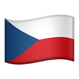Flag For Czech Republic Emoji (Apple/iOS Version)