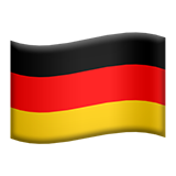 Flag For Germany Emoji (Apple/iOS Version)