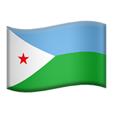 Flag For Djibouti Emoji - Copy & Paste - EmojiBase!