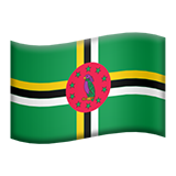 Flag For Dominica Emoji (Apple/iOS Version)