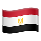 Flag For Egypt Emoji (Apple/iOS Version)
