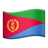 Flag For Eritrea Emoji (Apple/iOS Version)