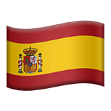 Flag For Spain Emoji (Apple/iOS Version)