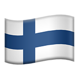 Flag For Finland Emoji (Apple/iOS Version)