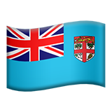 Flag For Fiji Emoji (Apple/iOS Version)