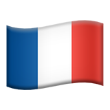 Flag For France Emoji (Apple/iOS Version)