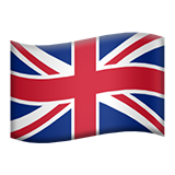 Flag For United Kingdom Emoji (Apple/iOS Version)