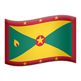 Flag For Grenada Emoji (Apple/iOS Version)