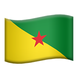 Flag For French Guiana Emoji (Apple/iOS Version)