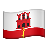 Flag For Gibraltar Emoji (Apple/iOS Version)