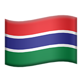 Flag For Gambia Emoji (Apple/iOS Version)