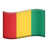 Flag For Guinea Emoji (Apple/iOS Version)