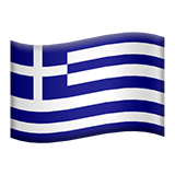 Flag For Greece Emoji (Apple/iOS Version)