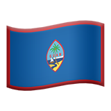 Flag For Guam Emoji (Apple/iOS Version)
