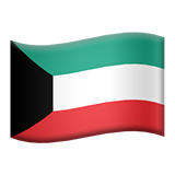 Flag For Kuwait Emoji (Apple/iOS Version)