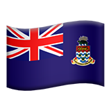 Flag For Cayman Islands Emoji (Apple/iOS Version)