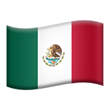 Flag For Mexico Emoji (Apple/iOS Version)
