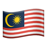 Flag For Malaysia Emoji (Apple/iOS Version)