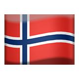 Flag For Norway Emoji (Apple/iOS Version)