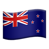 Flag For New Zealand Emoji (Apple/iOS Version)