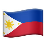 Flag For Philippines Emoji (Apple/iOS Version)