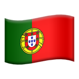 Flag For Portugal Emoji (Apple/iOS Version)