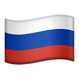 Flag For Russia Emoji (Apple/iOS Version)