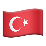 Flag For Turkey Emoji (Apple/iOS Version)