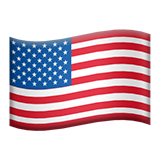 Flag For United States Emoji (Apple/iOS Version)