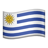 Flag For Uruguay Emoji (Apple/iOS Version)