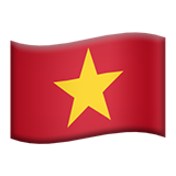 Flag For Vietnam Emoji (Apple/iOS Version)
