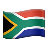 Flag For South Africa Emoji (Apple/iOS Version)
