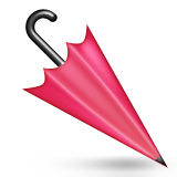 Closed Umbrella Emoji (Apple/iOS Version)