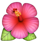 Hibiscus Emoji (Apple/iOS Version)