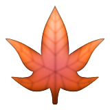 Maple Leaf Emoji (Apple/iOS Version)