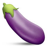 eggplant emoticon - photo #11