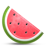 Watermelon Emoji (Apple/iOS Version)