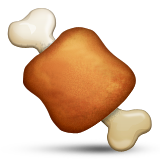 Meat On Bone Emoji (Apple/iOS Version)