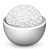 Cooked Rice Emoji (Apple/iOS Version)