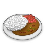 Curry And Rice Emoji (Apple/iOS Version)