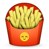 French Fries Emoji (Apple/iOS Version)